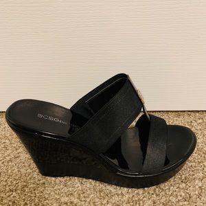 BCBGeneration Wedge Sandals US 7.5